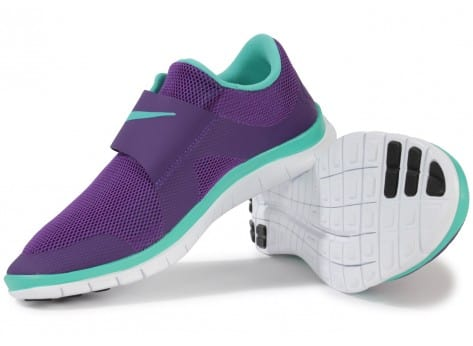 Chaussures Nike FREE SOCFLY COURT PURPLE vue intérieure