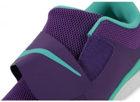Chaussures Nike FREE SOCFLY COURT PURPLE vue dessus