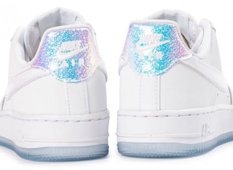 Chaussures Nike Air Force 1 07 PRM Iridescente vue dessus