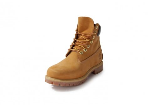 Chaussures Timberland 6-INCH PREMIUM BOOT BEIGE vue avant
