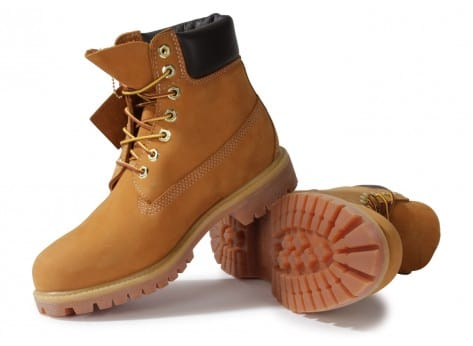 Chaussures Timberland 6-INCH PREMIUM BOOT BEIGE vue intérieure