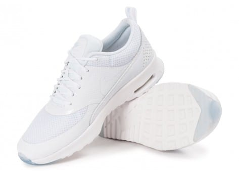 Chaussures Nike Air Max Thea PRM blanche iridescente vue intérieure
