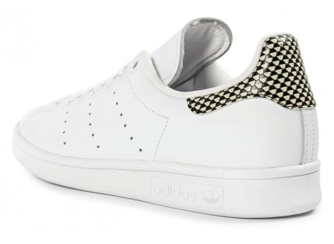 Chaussures adidas Stan Smith blanche vue arrière