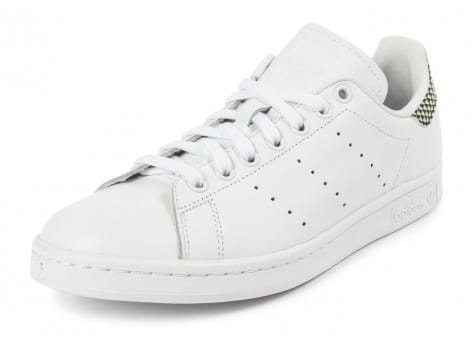 Chaussures adidas Stan Smith blanche vue avant