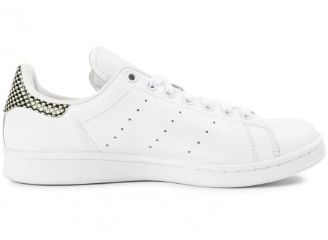 Chaussures adidas Stan Smith blanche vue dessous