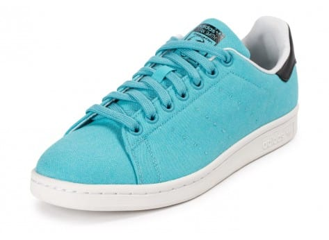 Chaussures adidas Stan Smith Blanch Sky BBQ vue avant