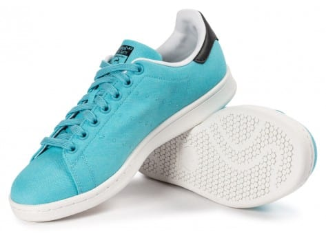 Chaussures adidas Stan Smith Blanch Sky BBQ vue intérieure