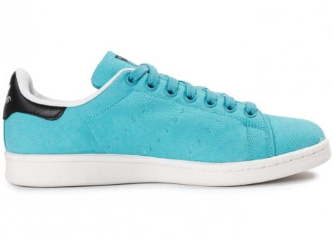 Chaussures adidas Stan Smith Blanch Sky BBQ vue dessous