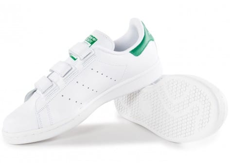 Chaussures adidas Stan Smith CF Velcro blanche vue intérieure