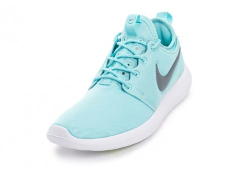 Chaussures Nike Roshe 2 W turquoise vue avant