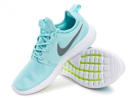 Chaussures Nike Roshe 2 W turquoise vue intérieure
