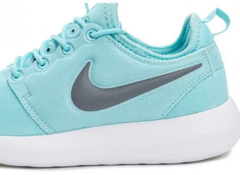 Chaussures Nike Roshe 2 W turquoise vue dessus