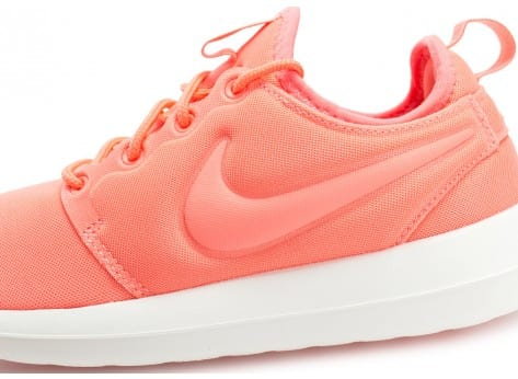 Chaussures Nike Roshe 2 W rose vue dessus