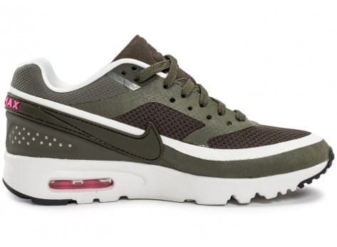 Chaussures Nike Air Max BW Ultra W Olive vue dessous
