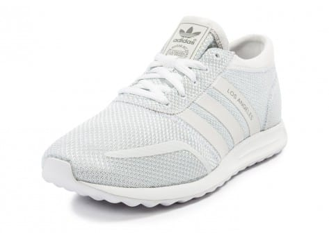 Chaussures adidas Los Angeles blanche vue avant