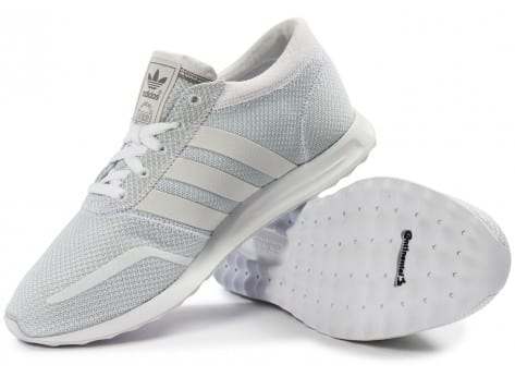 Chaussures adidas Los Angeles blanche vue intérieure