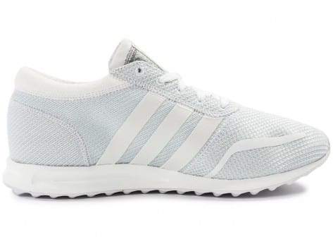 Chaussures adidas Los Angeles blanche vue dessous