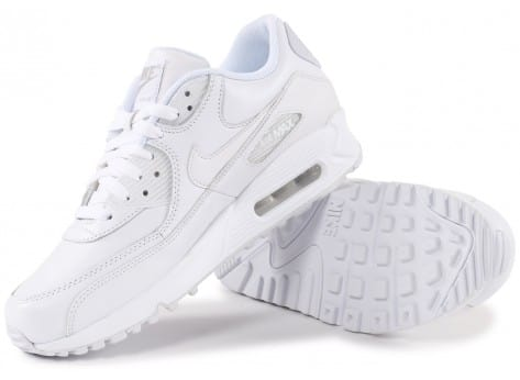 Chaussures Nike Air Max 90 Leather Blanche vue intérieure