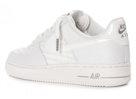 Chaussures Nike Air Force 1 LV8 Low blanche vue arrière