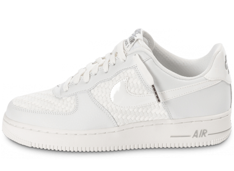 Chaussures Nike Air Force 1 LV8 Low blanche vue avant