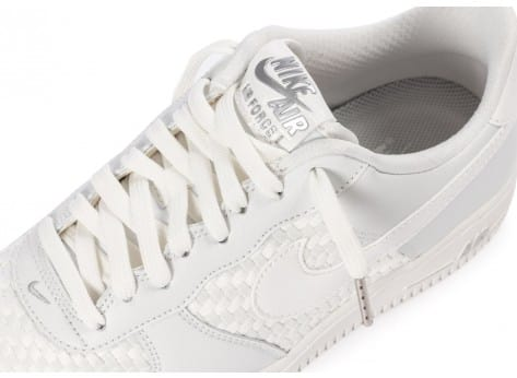 Chaussures Nike Air Force 1 LV8 Low blanche vue dessus