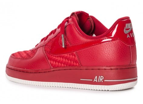 Chaussures Nike Air Force 1 LV8 Low rouge vue arrière