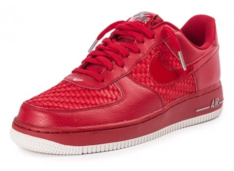 Chaussures Nike Air Force 1 LV8 Low rouge vue avant