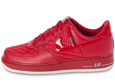 Chaussures Nike Air Force 1 LV8 Low rouge vue intérieure