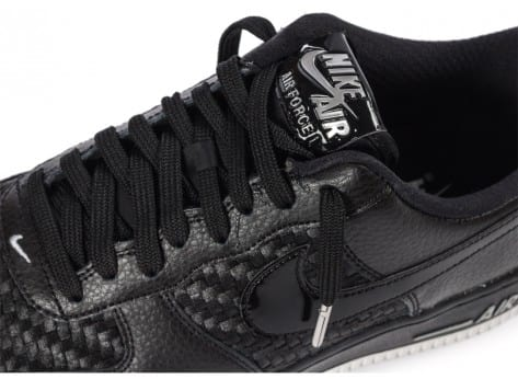 Chaussures Nike Air Force 1 LV8 Low noire vue dessus