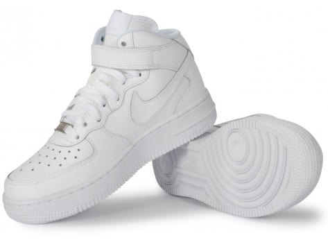 Chaussures Nike AIR FORCE 1 MID JUNIOR vue intérieure