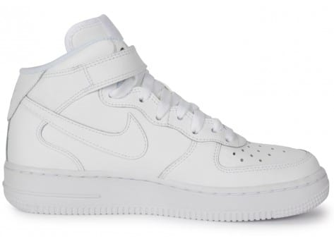 Chaussures Nike AIR FORCE 1 MID JUNIOR vue dessous