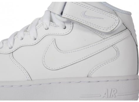 Chaussures Nike AIR FORCE 1 MID JUNIOR vue dessus