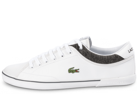 Chaussures Lacoste Angha Cuir Blanche vue intérieure
