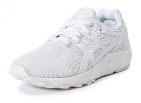 Chaussures Asics Gel Kayano Trainer Evo W triple white vue avant