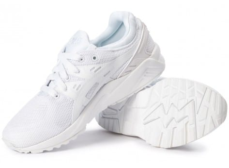 Chaussures Asics Gel Kayano Trainer Evo W triple white vue intérieure
