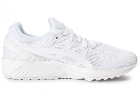 Chaussures Asics Gel Kayano Trainer Evo W triple white vue dessous