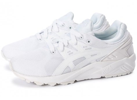 Chaussures Asics Gel Kayano Trainer Evo W triple white vue extérieure