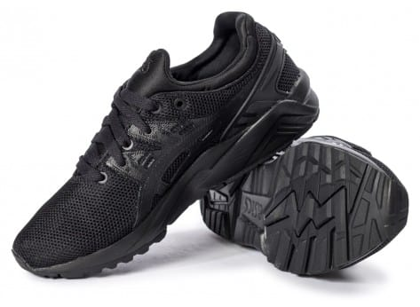 Chaussures Asics Gel Kayano Trainer Evo W triple black vue intérieure