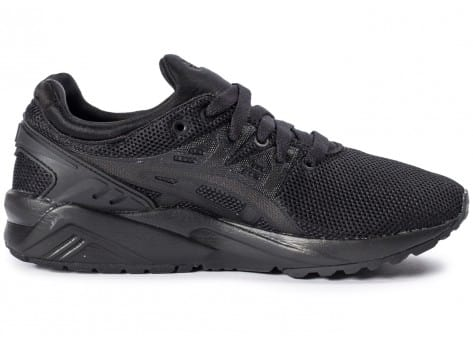 Chaussures Asics Gel Kayano Trainer Evo W triple black vue dessous