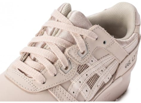 Chaussures Asics Gel Lyte III Whisper Pink vue dessus