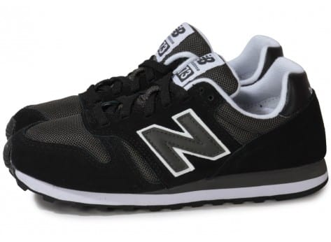 new balance 373 noir et or
