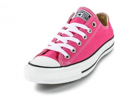 Chaussures Converse Chuck Taylor All-Star Low rose vue avant