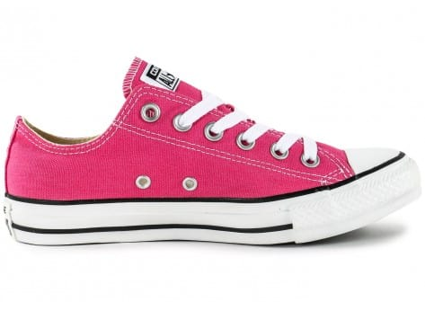 Chaussures Converse Chuck Taylor All-Star Low rose vue intérieure