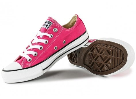 Chaussures Converse Chuck Taylor All-Star Low rose vue dessous