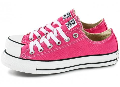Chaussures Converse Chuck Taylor All-Star Low rose vue extérieure