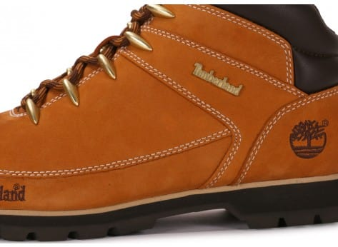 Chaussures Timberland Euro Sprint Camel vue dessus