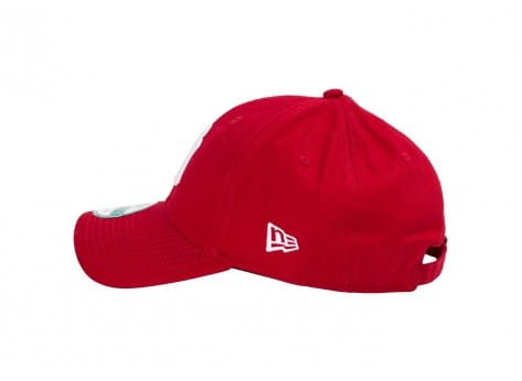 Casquettes New Era Casquette 9/40 NY rouge