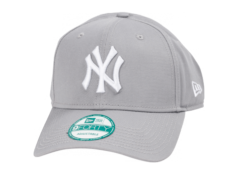 Casquettes New Era Casquette 9/40 MLB The League New York Yankees gris
