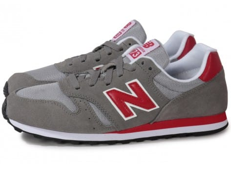 new balance rouge gris