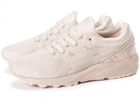 Chaussures Asics Gel Kayano Trainer Evo W Whisper pink vue extérieure